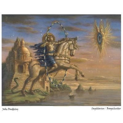 kunst boogschutter jake baddelly via horoscoopboek
