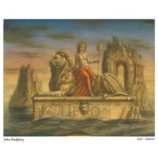 leeuw van jake baddely bij horoscoopboek