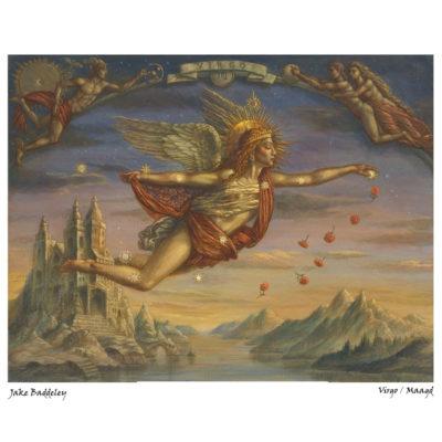 maagd van jake baddely bij horoscoopboek